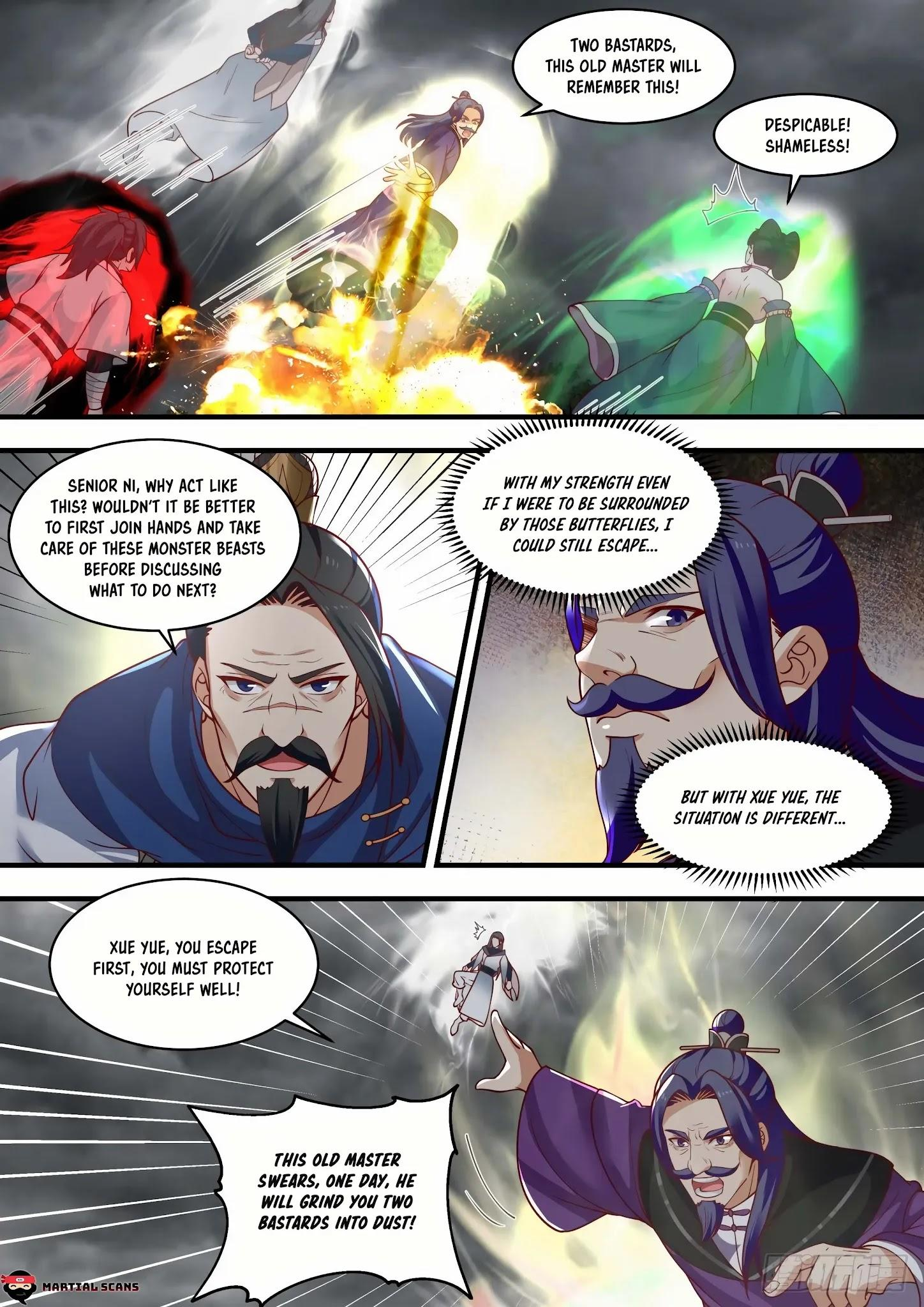 Martial Peak Chapter 1457: Illusionary Void Butterfly page 4 - Mangakakalots.com