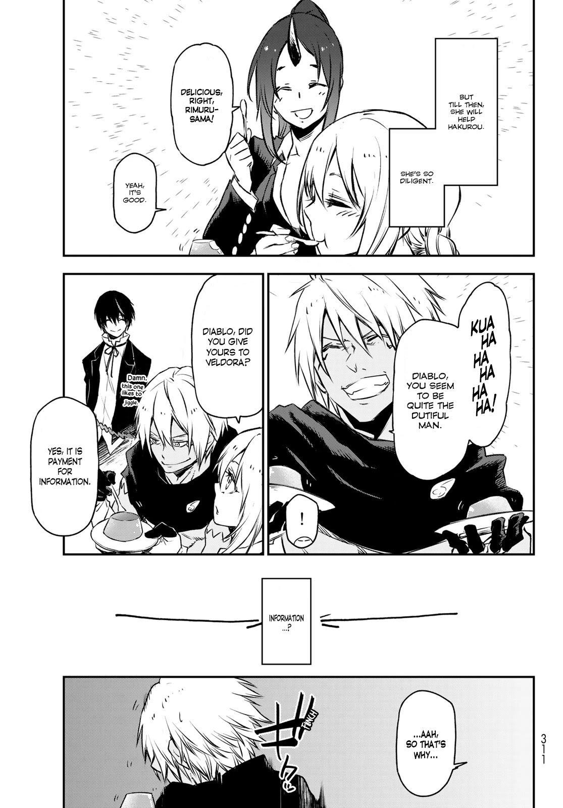 Tensei Shitara Slime Datta Ken Chapter 88: A Demon And A Plot page 33 - Mangakakalots.com