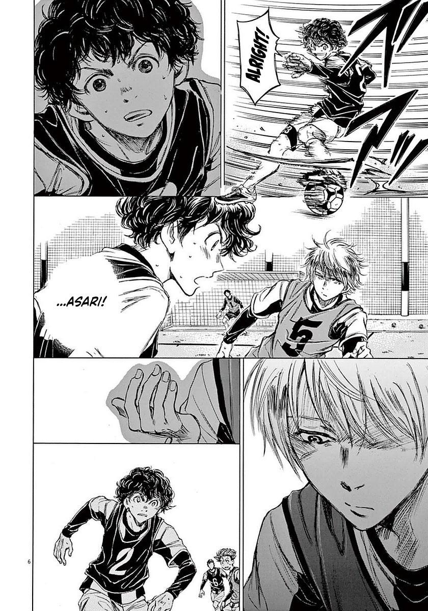 Ao Ashi Vol.4 Chapter 31: Taunt page 6 - Mangakakalots.com