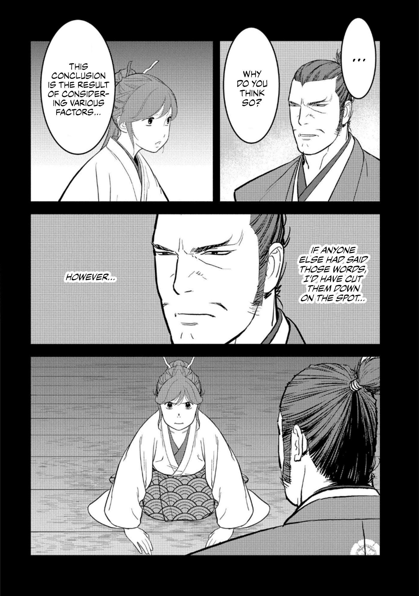 Sengoku Komachi Kurou Tan! Chapter 42 page 21 - Mangakakalots.com