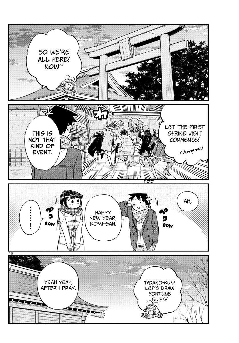 Komi-San Wa Komyushou Desu Vol.7 Chapter 94: Everyone's New Year page 16 - Mangakakalot