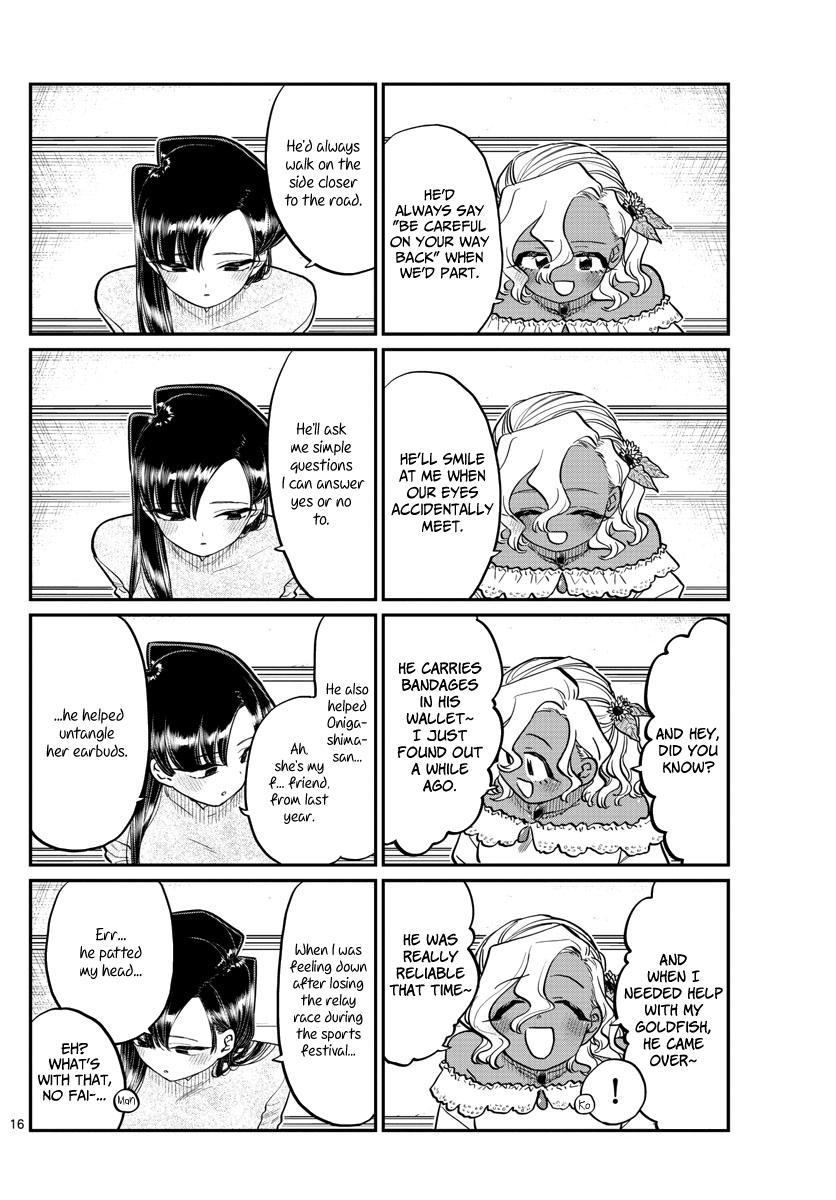 Komi-San Wa Komyushou Desu Chapter 227: Of Course page 16 - Mangakakalot