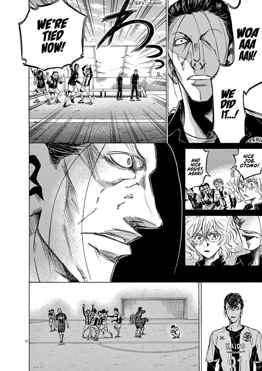 Ao Ashi Chapter 53: Eagle Eye (1) page 11 - Mangakakalots.com
