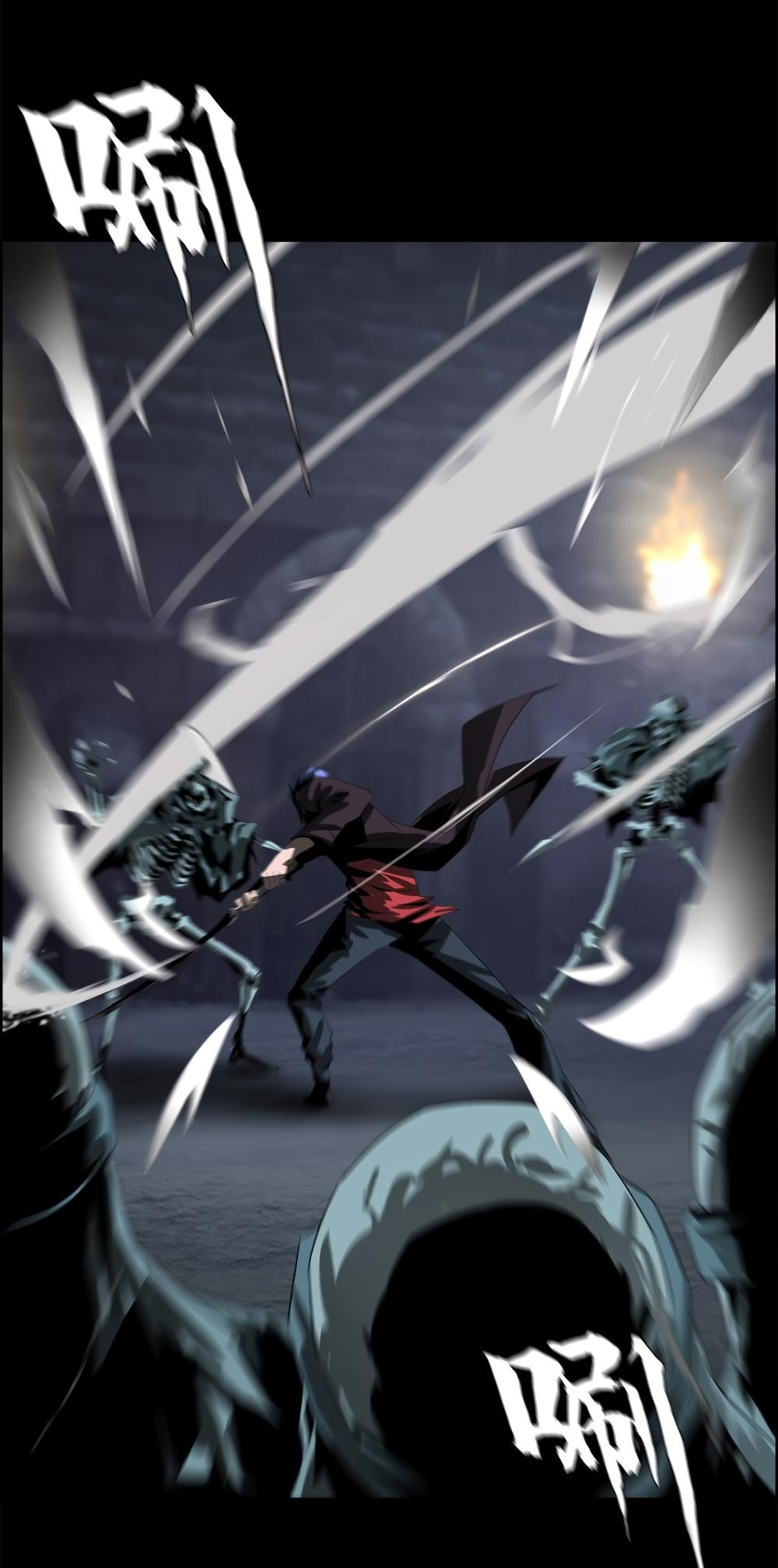 The Blade Of Evolution-Walking Alone In The Dungeon Chapter 37 page 54 - Mangakakalots.com