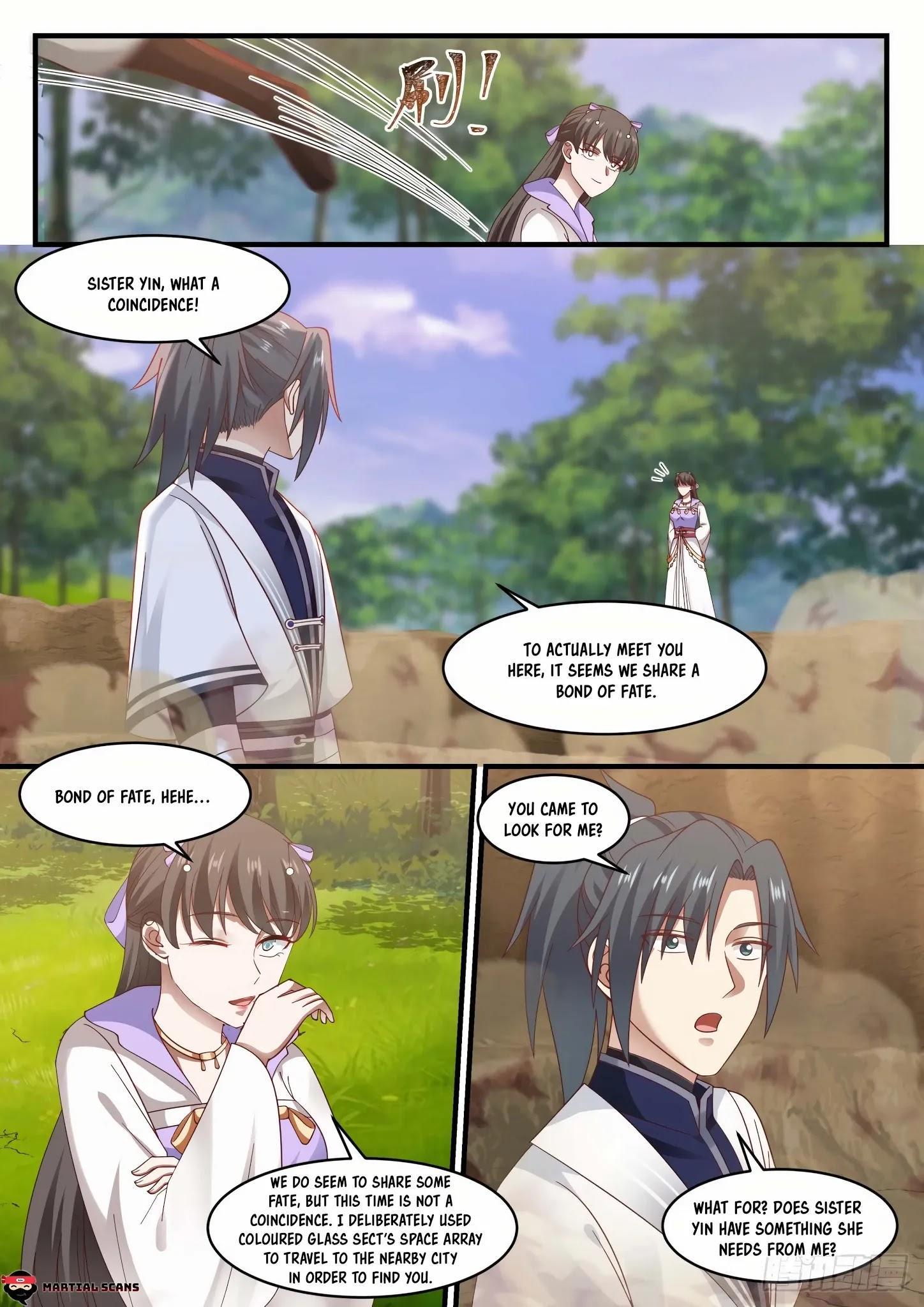 Martial Peak Chapter 1184: Bond Of Fate page 8 - Mangakakalots.com