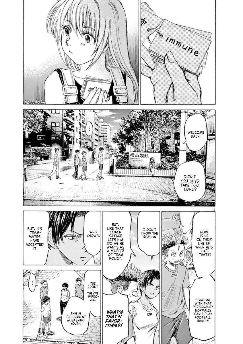 Ao Ashi Vol.9 Chapter 87: Flames Of Desitiny page 12 - Mangakakalots.com