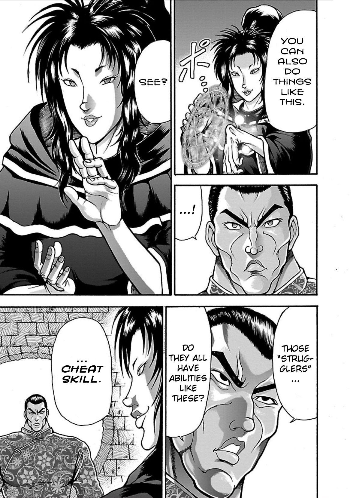 Baki Gaiden - Retsu Kaioh Isekai Tensei Shitemo Ikkō Kamawan! Vol.1 Chapter 8: Struggler page 9 - Mangakakalots.com