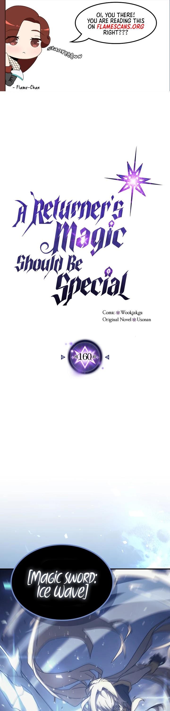 A Returner's Magic Should Be Special Chapter 160 page 2 - Mangakakalots.com