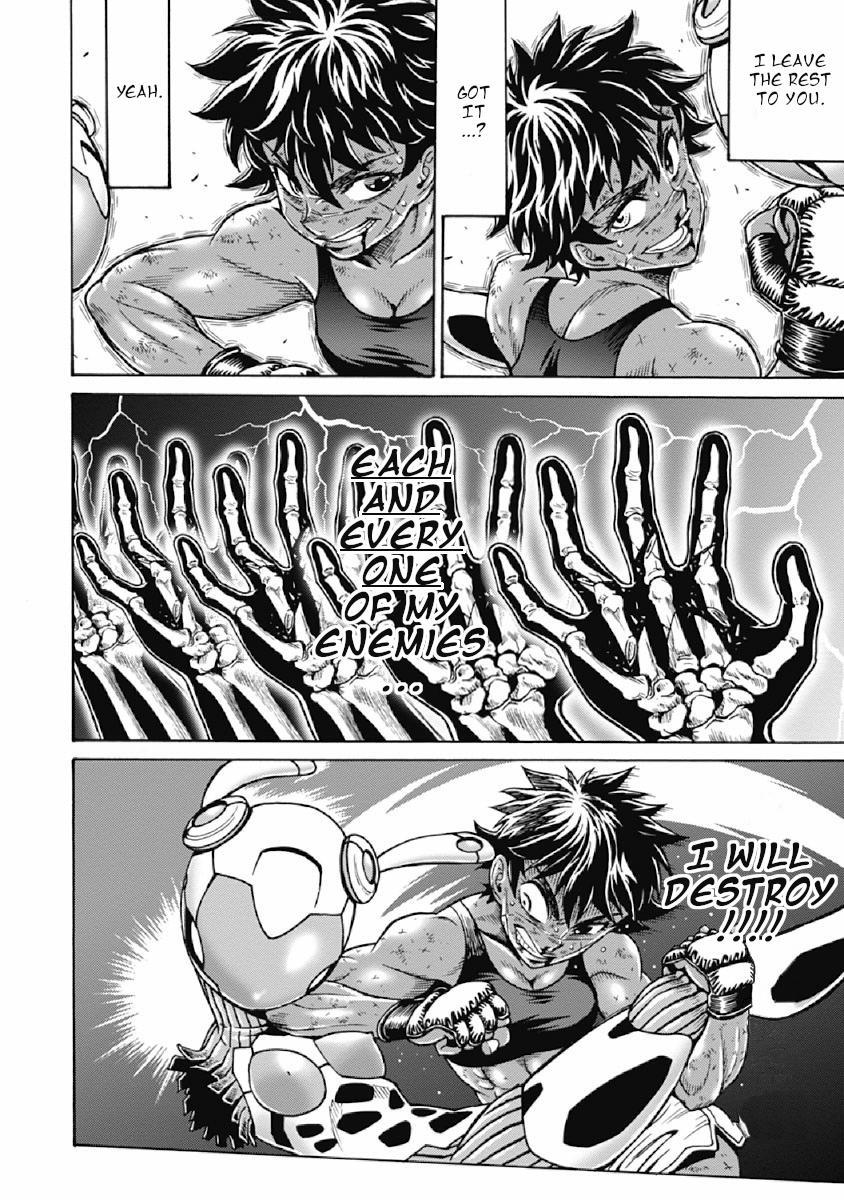 Hagure Idol Jigokuhen Vol.11 Chapter 74: Awaken The Power page 10 - Mangakakalots.com