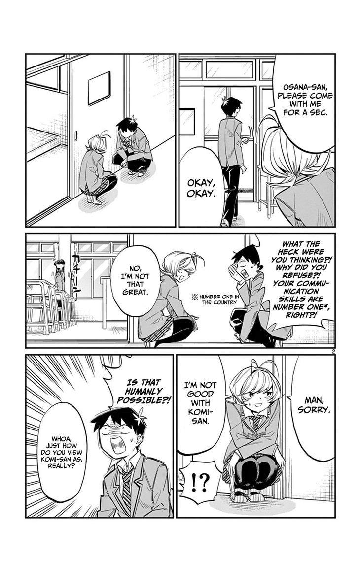Komi-San Wa Komyushou Desu Vol.1 Chapter 10: Dark History page 2 - Mangakakalot