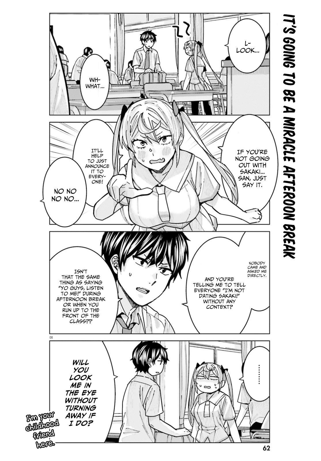 Himegasaki Sakurako Wa Kyoumo Fubin Kawaii! Chapter 11 page 8 - Mangakakalots.com