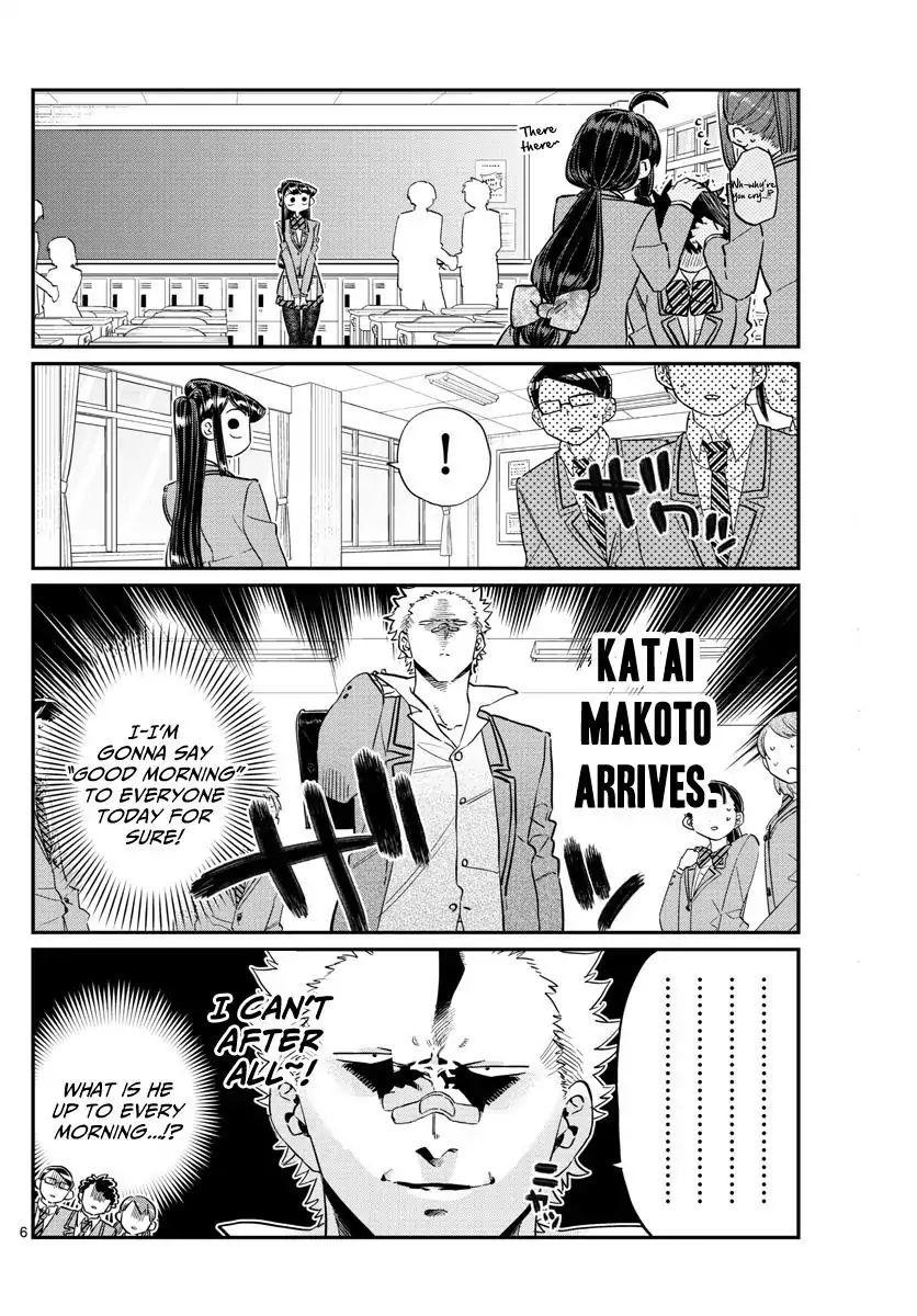 Komi-San Wa Komyushou Desu Vol.9 Chapter 114: Everyone's Commnunication page 6 - Mangakakalot