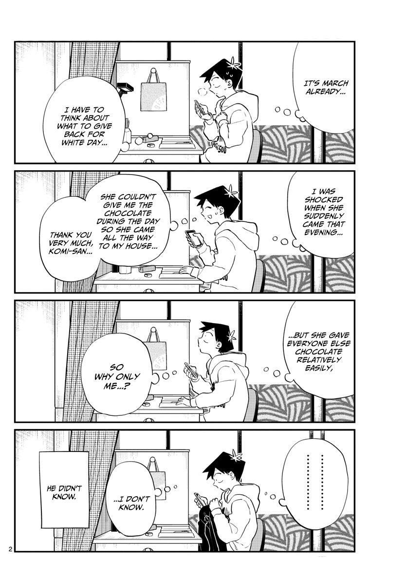 Komi-San Wa Komyushou Desu Vol.9 Chapter 126: Friend Chocolate page 2 - Mangakakalot