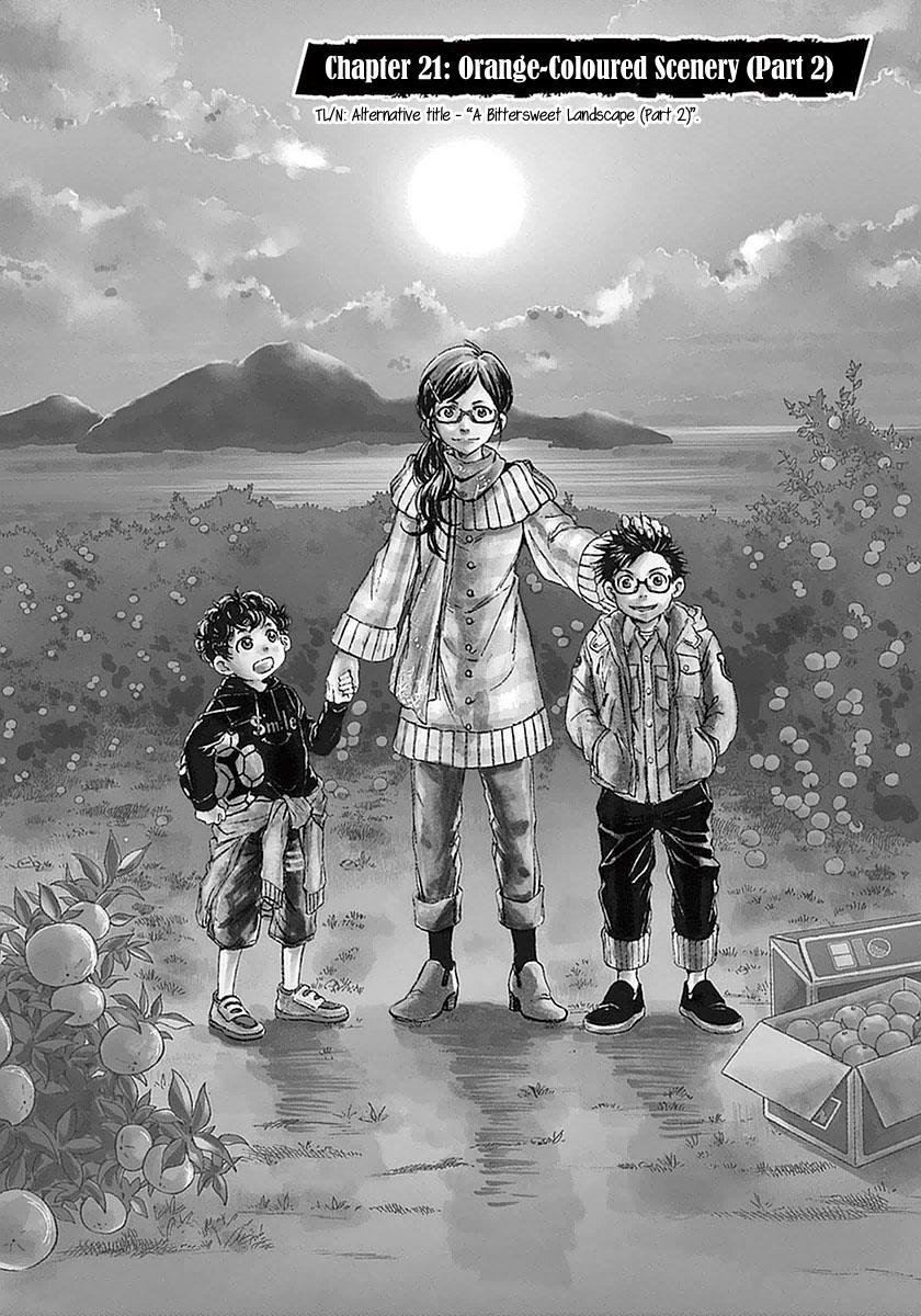 Ao Ashi Vol.3 Chapter 21: Orange-Coloured Scenery (Part 2) page 1 - Mangakakalots.com