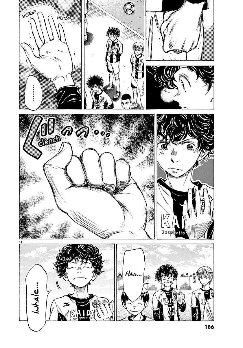 Ao Ashi Vol.4 Chapter 28: Hana Ichijou (2) page 14 - Mangakakalots.com