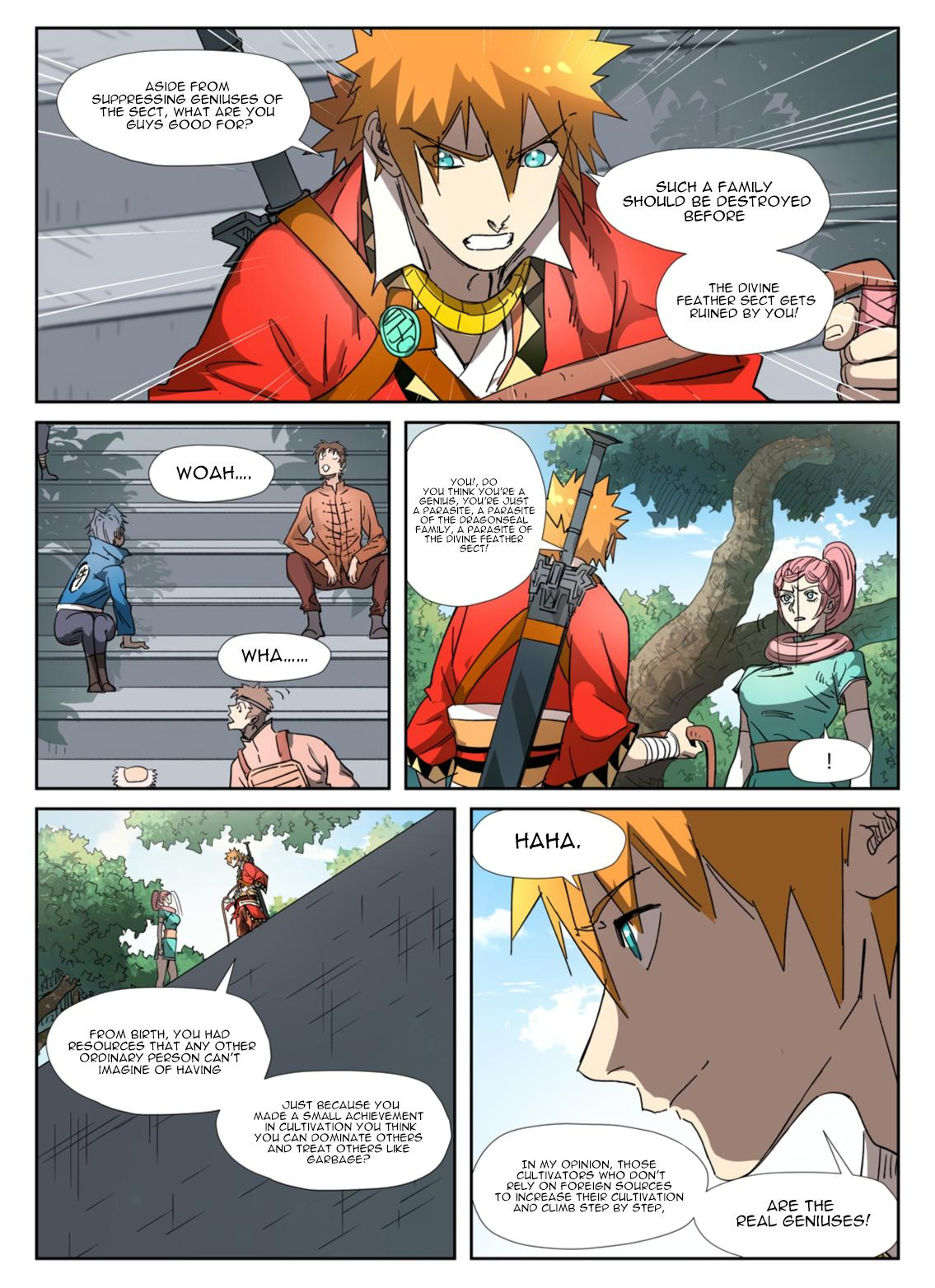 Tales Of Demons And Gods Chapter 316.5 page 7 - Mangakakalots.com
