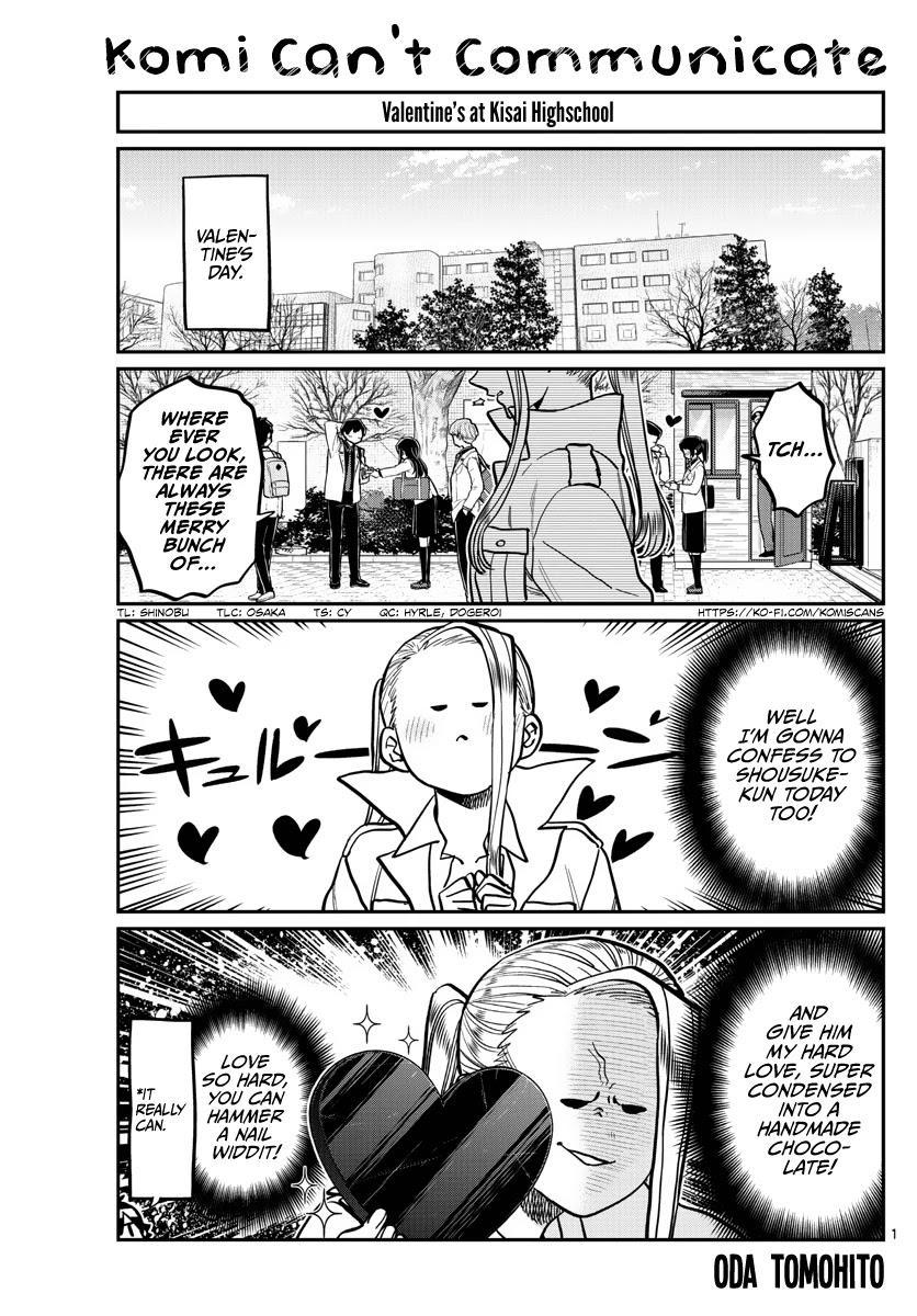Komi-San Wa Komyushou Desu Chapter 316: Everyone's White Day page 1 - Mangakakalots.com