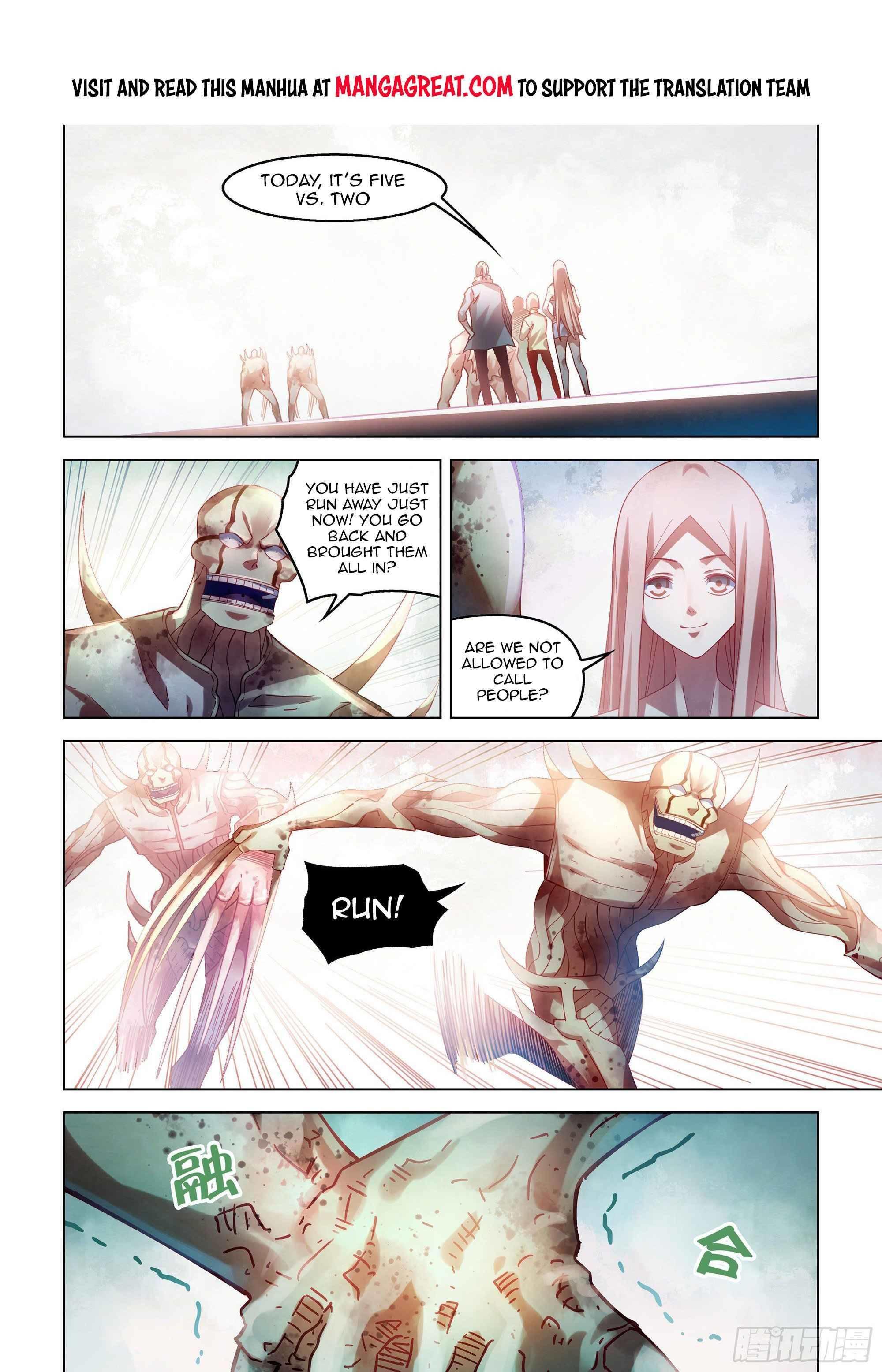 Moshi Fanren Chapter 380 page 1