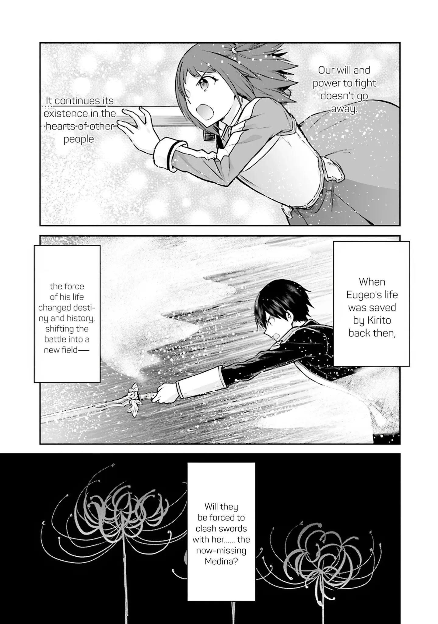 Sword Art Online - Lycoris Chapter 16: ~Epilogue~ That Which Is Passed Down page 21 - Mangakakalots.com