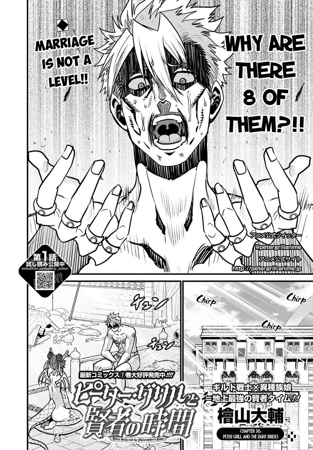 Peter Grill To Kenja No Jikan Chapter 36 page 3 - Mangakakalots.com