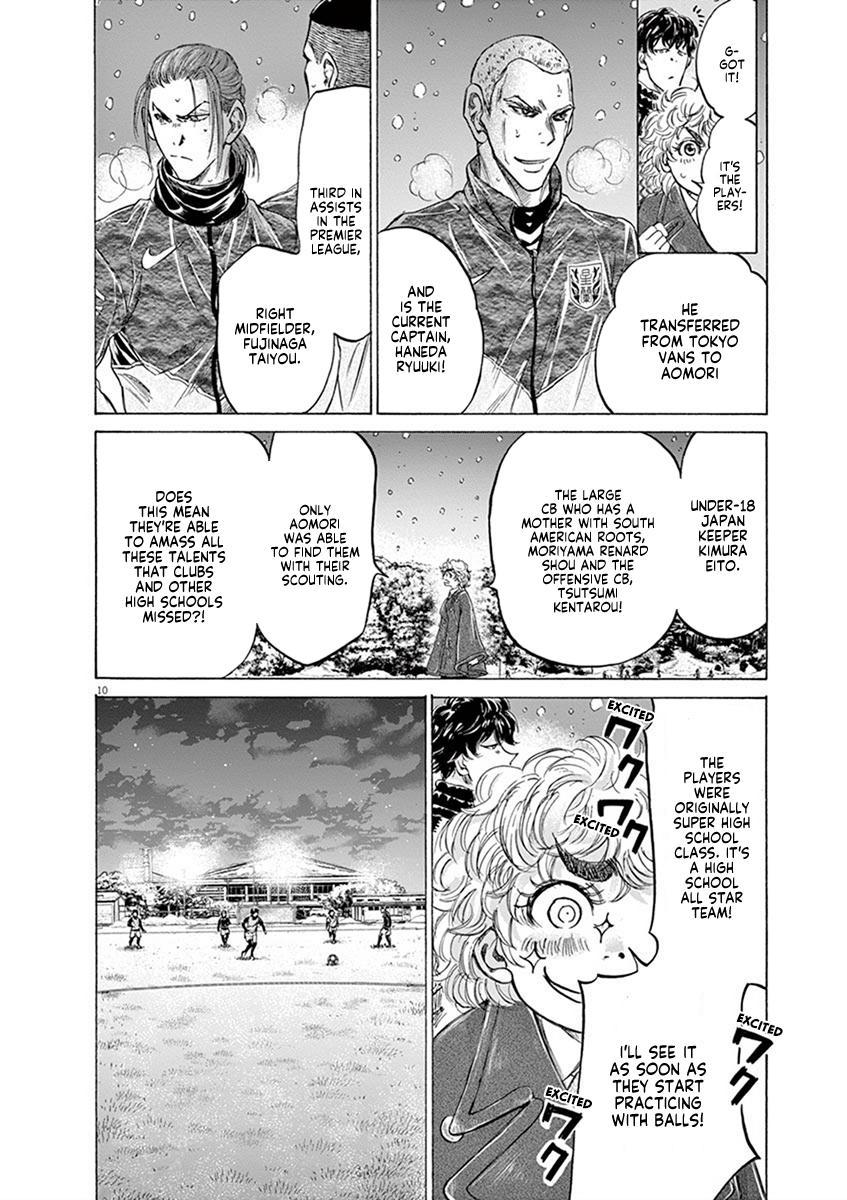 Ao Ashi Vol.20 Chapter 208: Winter Army page 10 - Mangakakalots.com