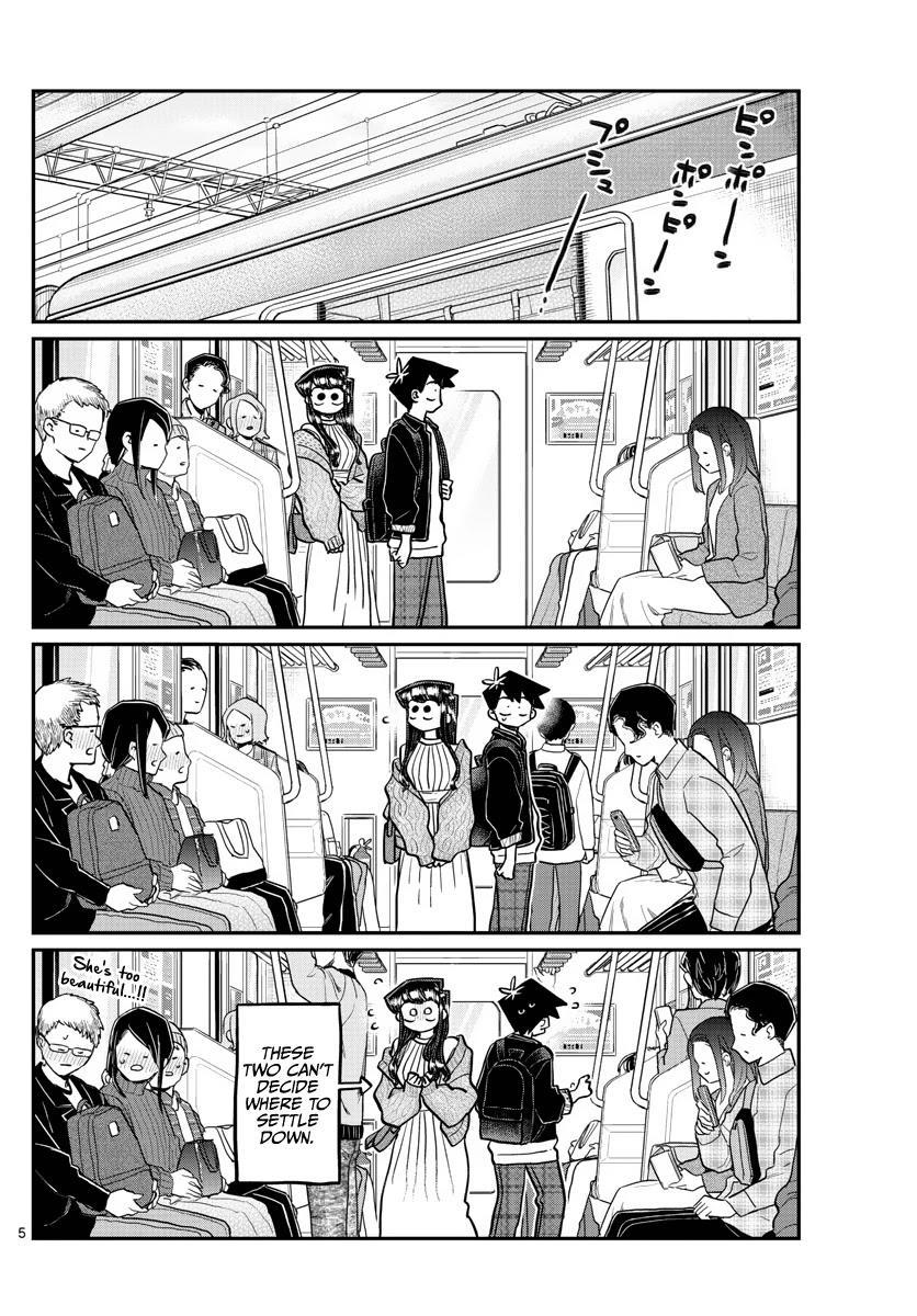 Komi-San Wa Komyushou Desu Chapter 319: The Actual Date page 5 - Mangakakalots.com