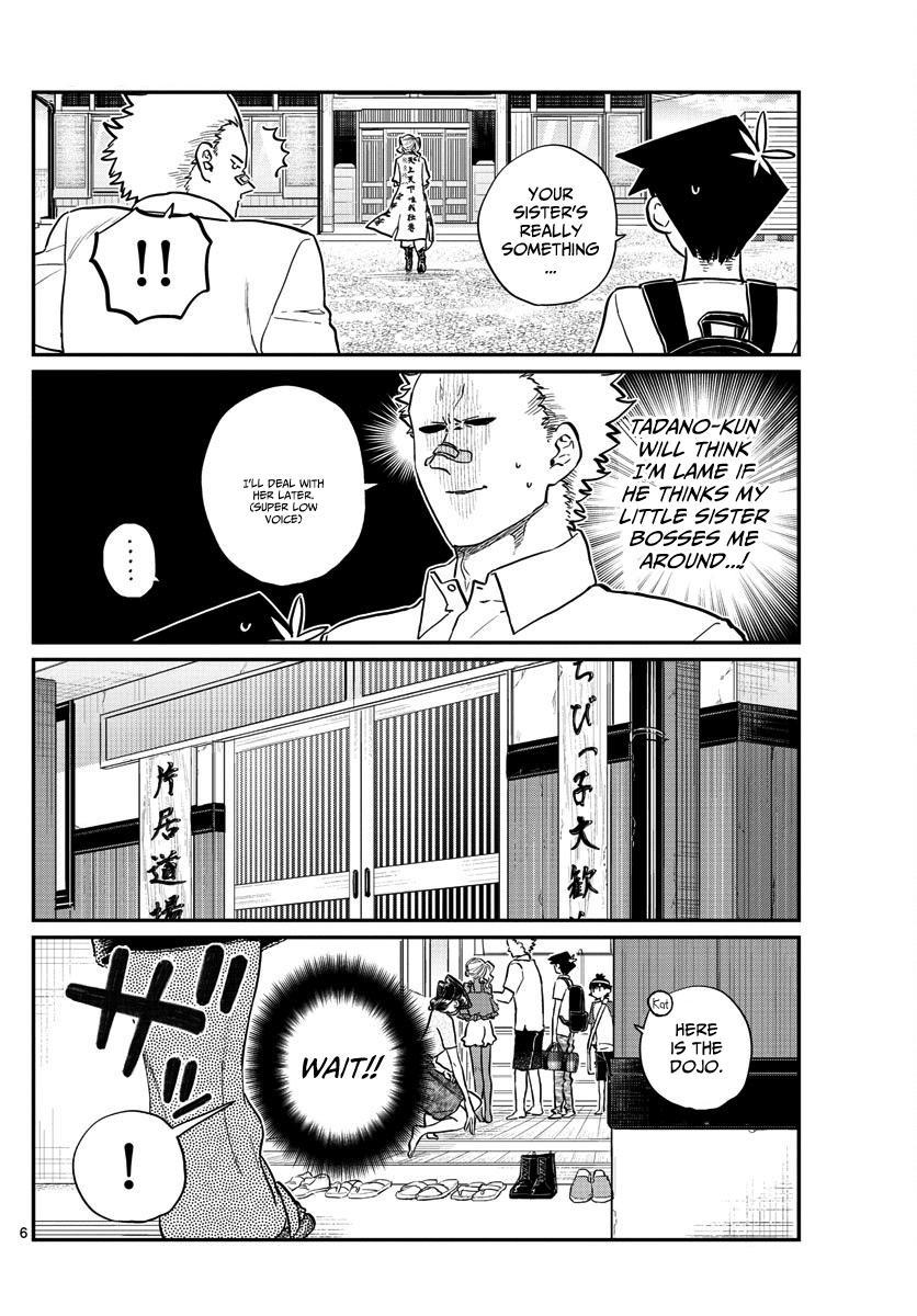 Komi-San Wa Komyushou Desu Vol.13 Chapter 179: Tremble! The Katai Clan! page 6 - Mangakakalot