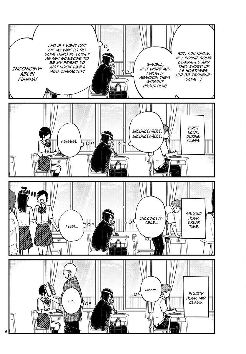 Komi-San Wa Komyushou Desu Vol.11 Chapter 156: A Story About Nakanaka-San page 6 - Mangakakalot
