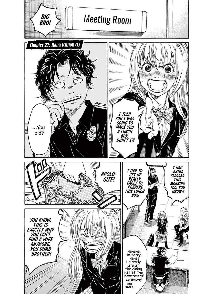 Ao Ashi Vol.3 Chapter 27: Hana Ichijou (1) page 1 - Mangakakalots.com