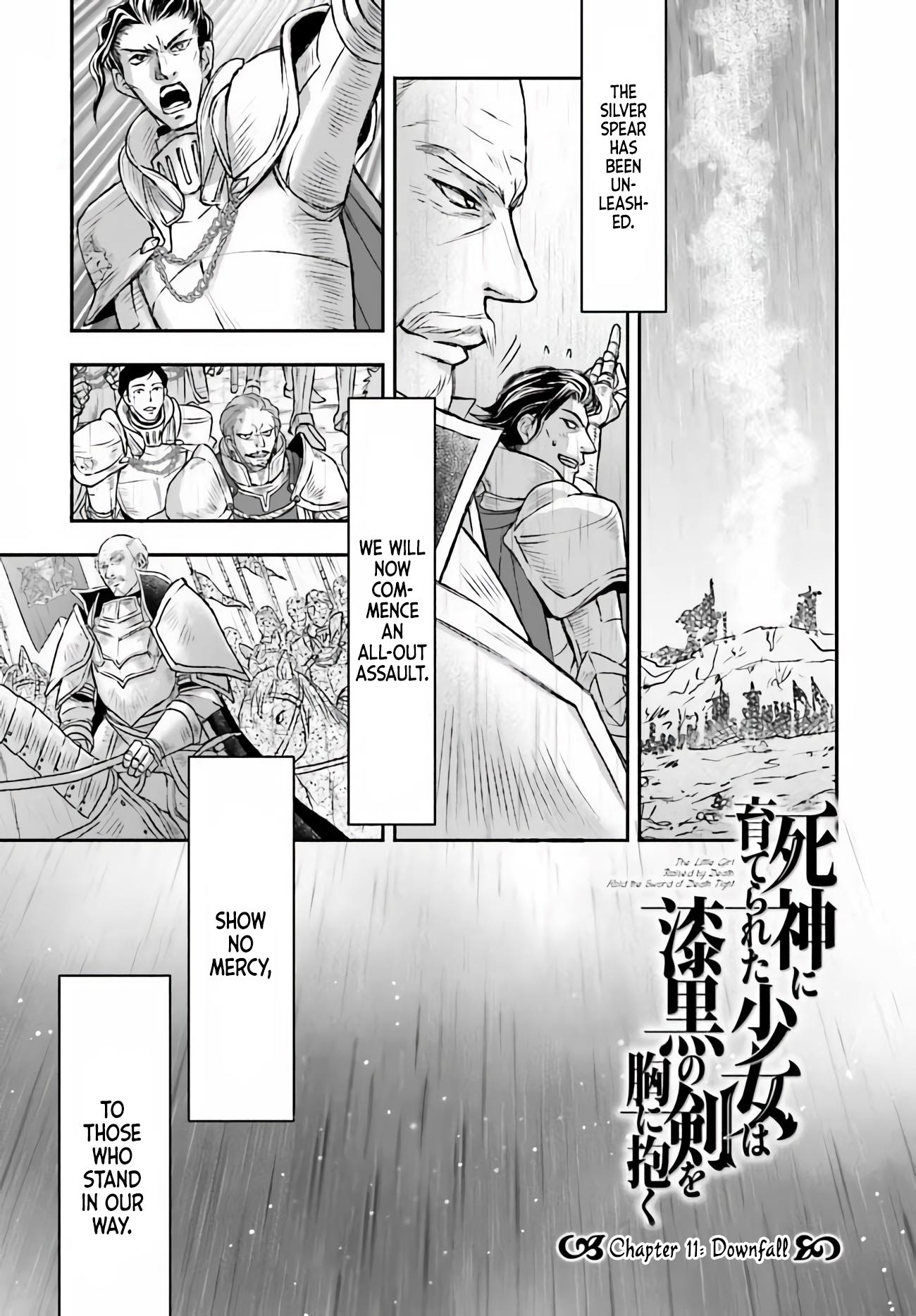 The Little Girl Raised By Death Hold The Sword Of Death Tight Chapter 11 page 2 - Mangakakalots.com