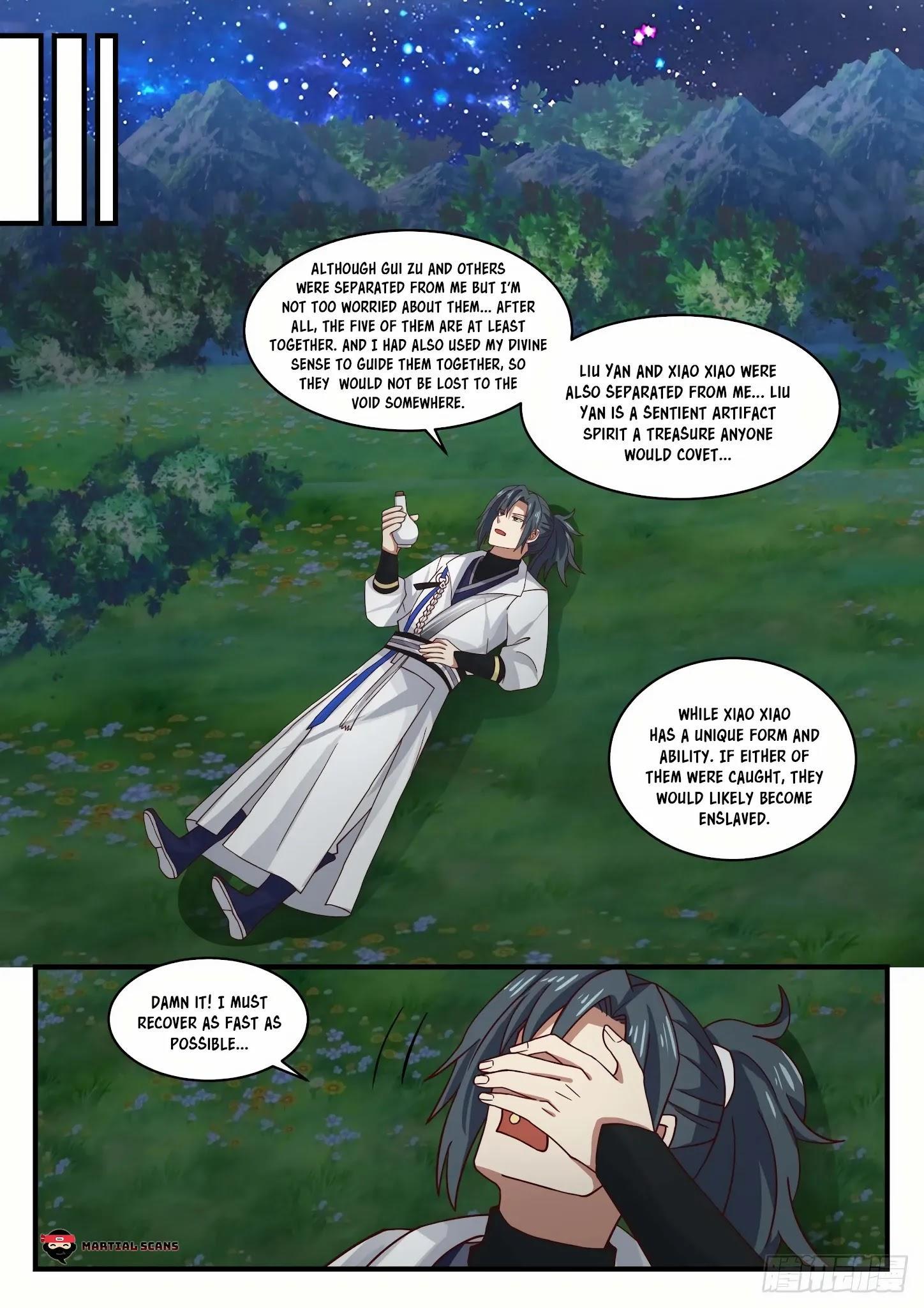 Martial Peak Chapter 1555: Arrived At The Star Boundary page 9 - Mangakakalots.com