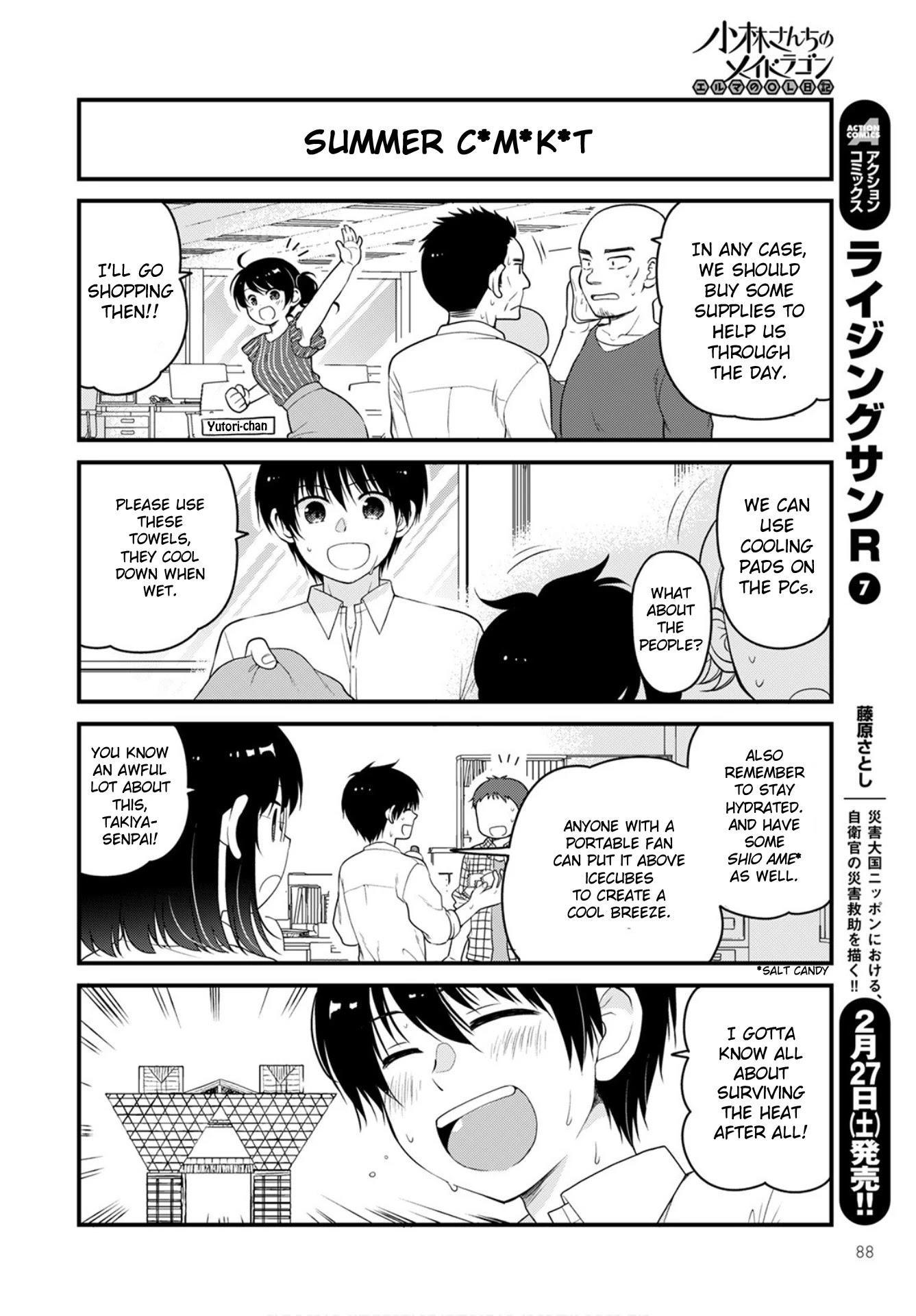 Kobayashi-San Chi No Maid Dragon: Elma Ol Nikki Chapter 44 page 4 - Mangakakalots.com