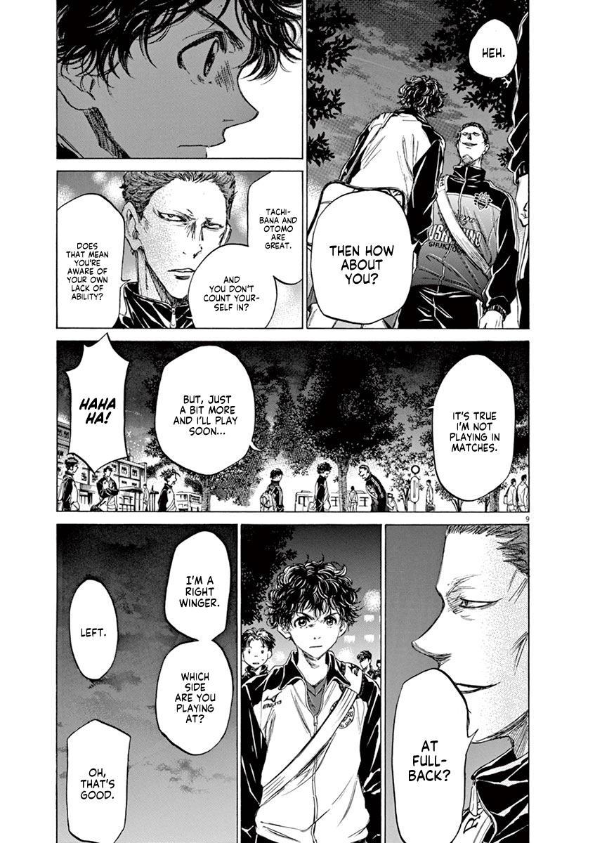 Ao Ashi Vol.8 Chapter 75: At The Entrance Of Mitaka Station (2) page 10 - Mangakakalots.com