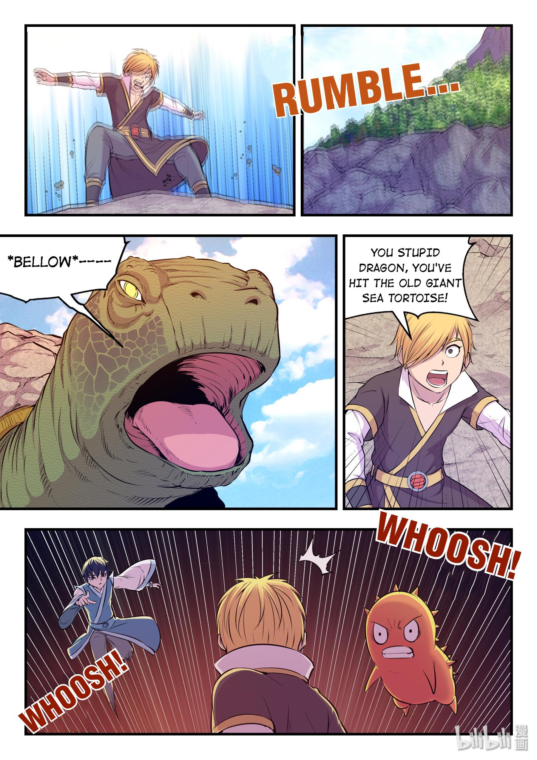 The All-Devouring Whale Chapter 25: King-Rank Spirit Monster page 15 - Mangakakalots.com