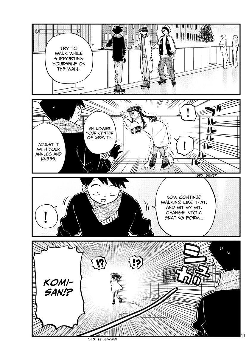 Komi-San Wa Komyushou Desu Vol.7 Chapter 95: Ice Skating page 11 - Mangakakalot