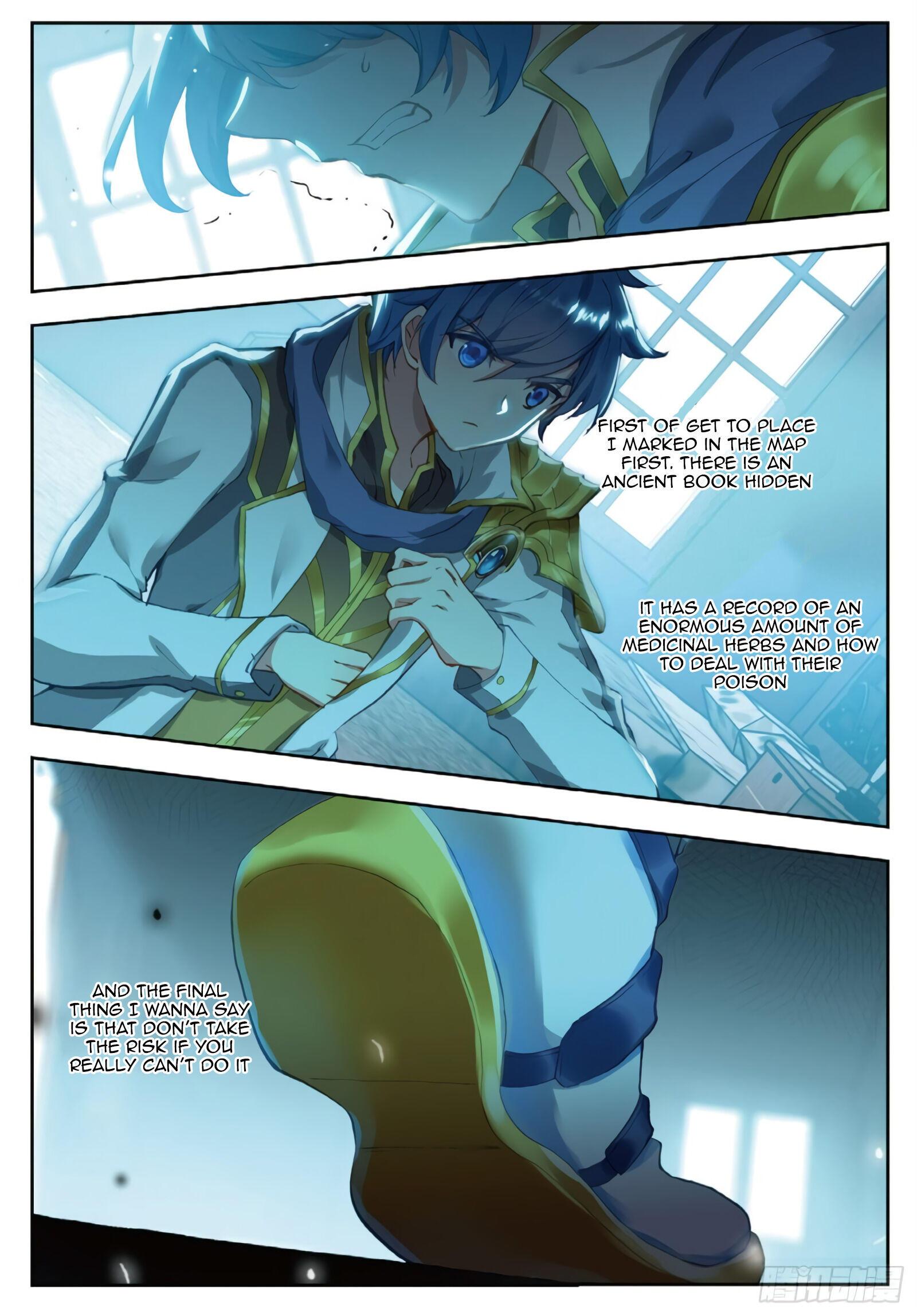 Douluo Dalu Ii - Jueshui Tangmen Chapter 283 page 7 - Mangakakalot