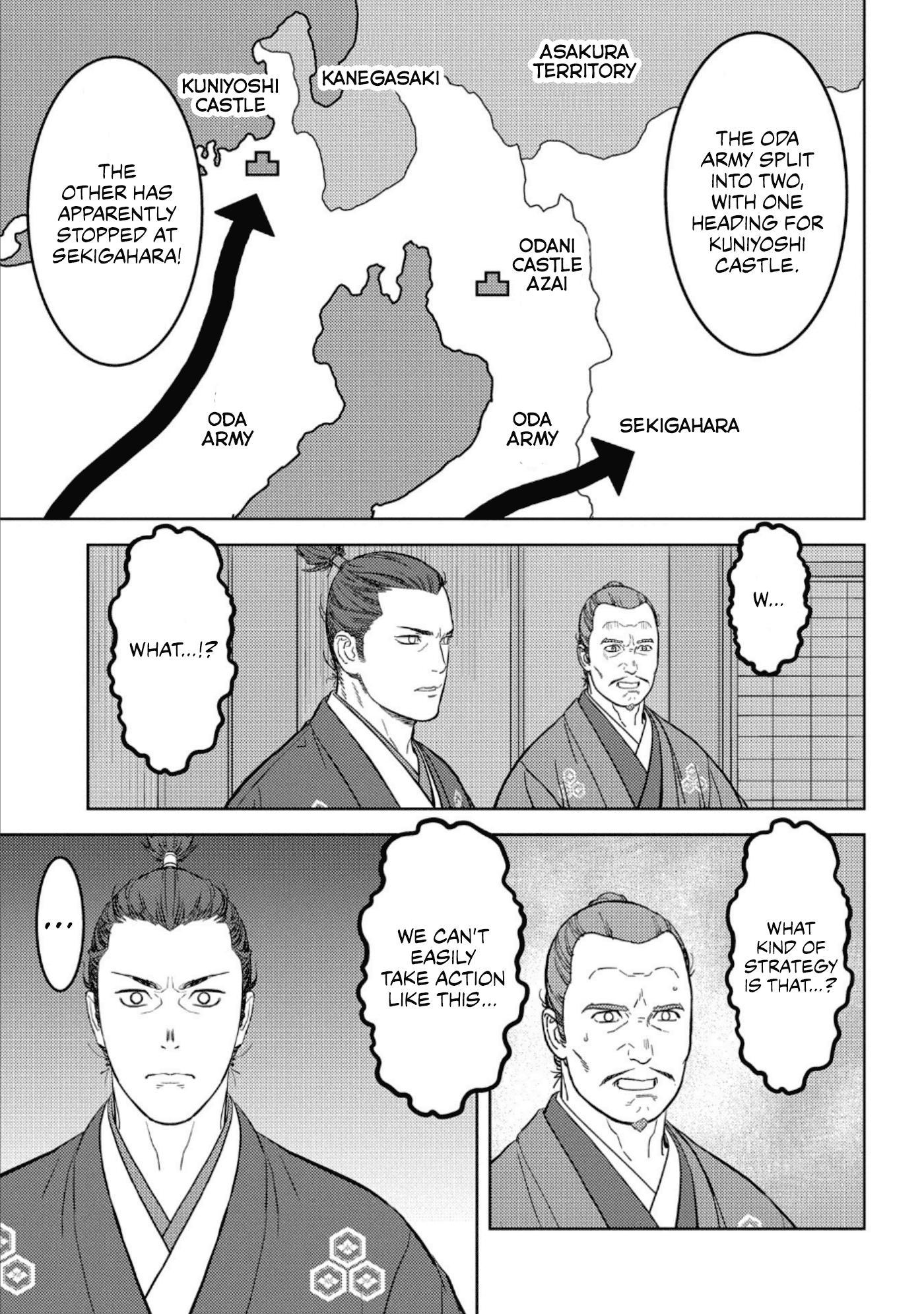 Sengoku Komachi Kurou Tan! Chapter 42 page 18 - Mangakakalots.com