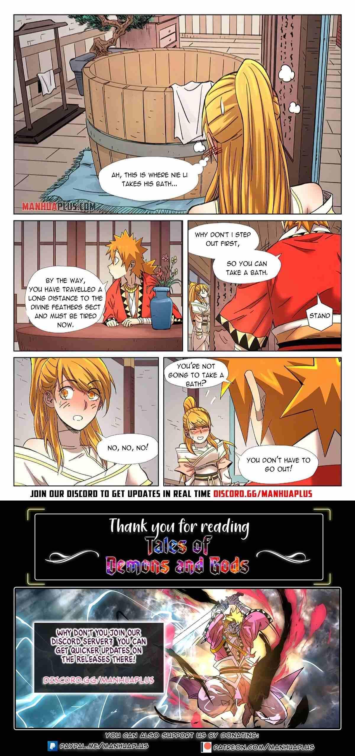Tales Of Demons And Gods Chapter 343 page 10 - Mangakakalots.com