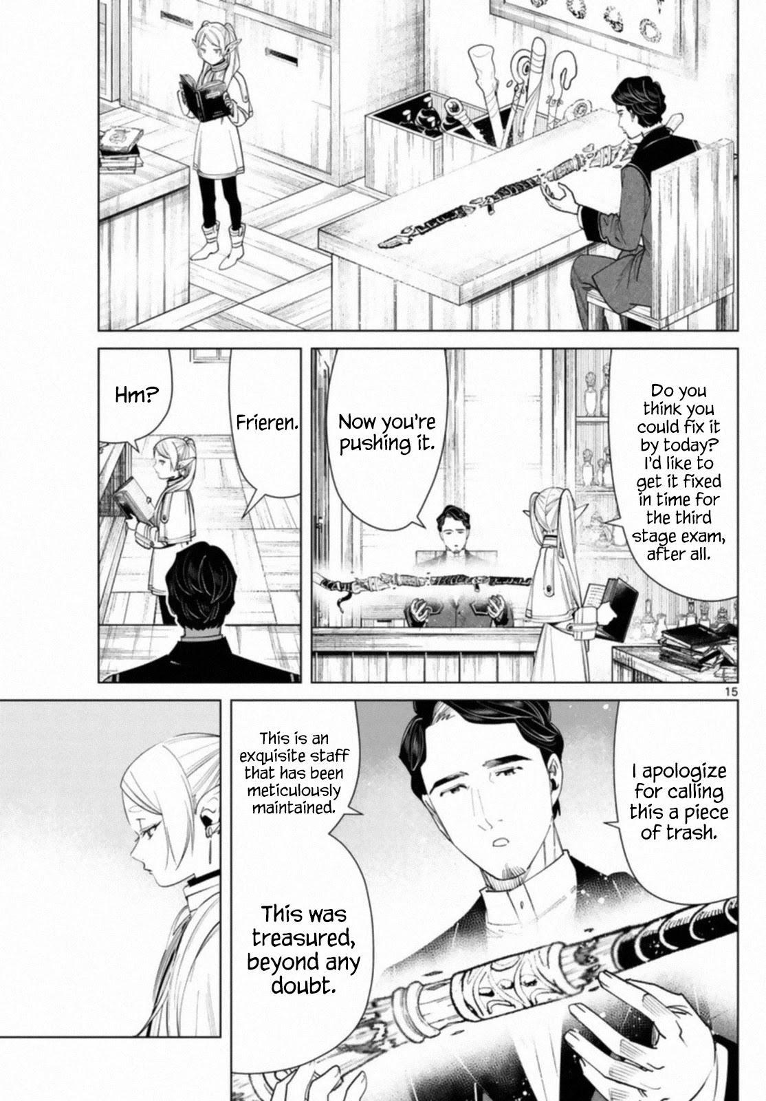 Sousou No Frieren Chapter 56 page 15 - Mangakakalots.com