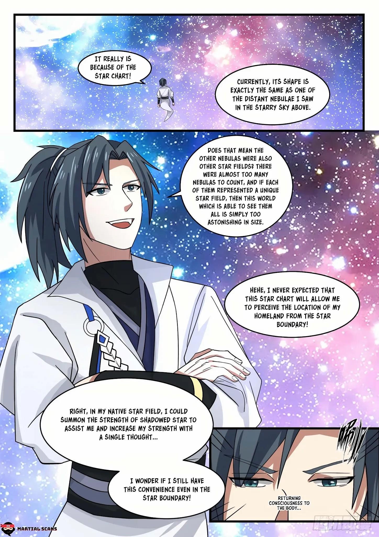 Martial Peak Chapter 1555: Arrived At The Star Boundary page 11 - Mangakakalots.com