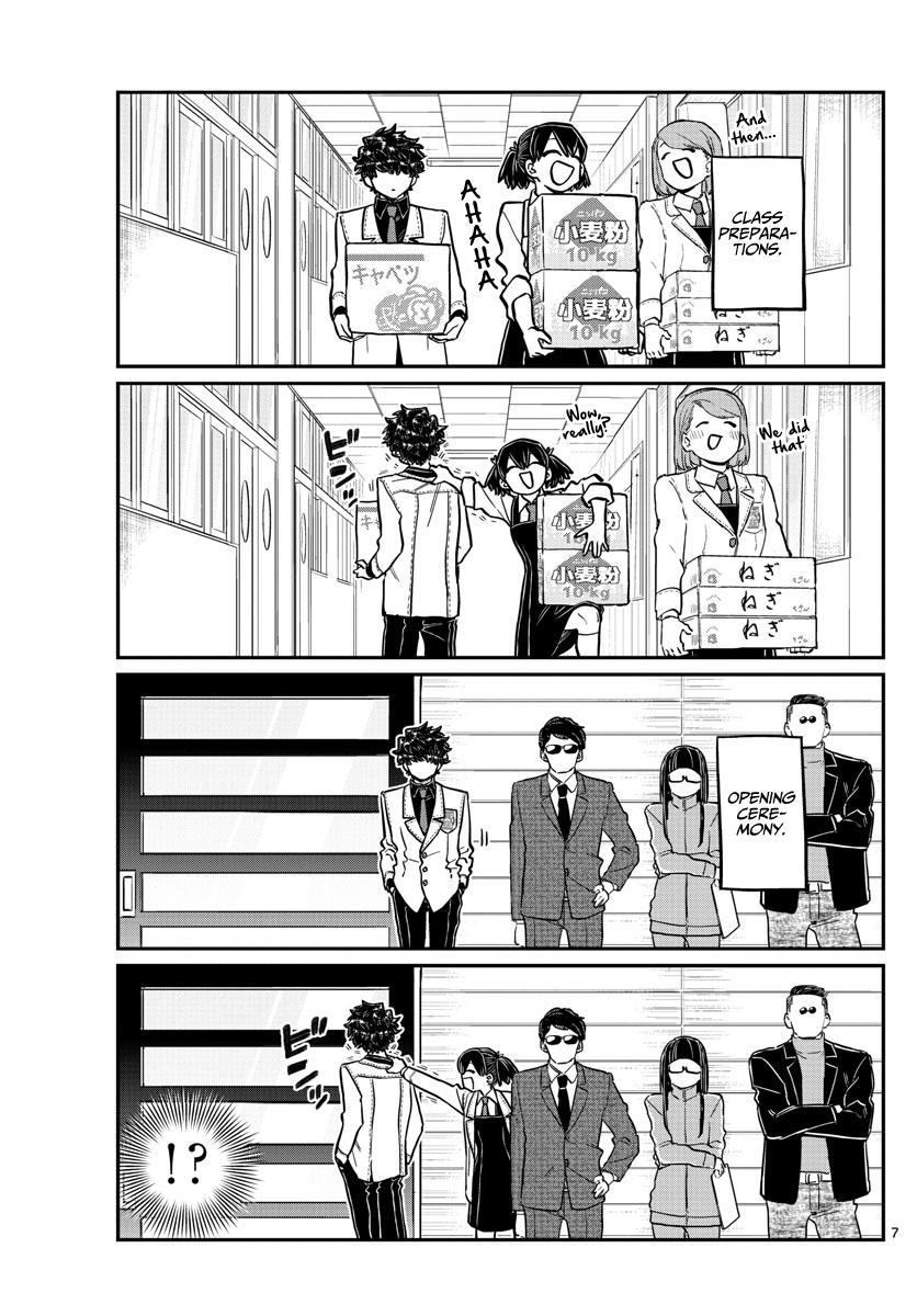 Komi-San Wa Komyushou Desu Chapter 244: Little Brother'S Cultural Festival page 7 - Mangakakalot