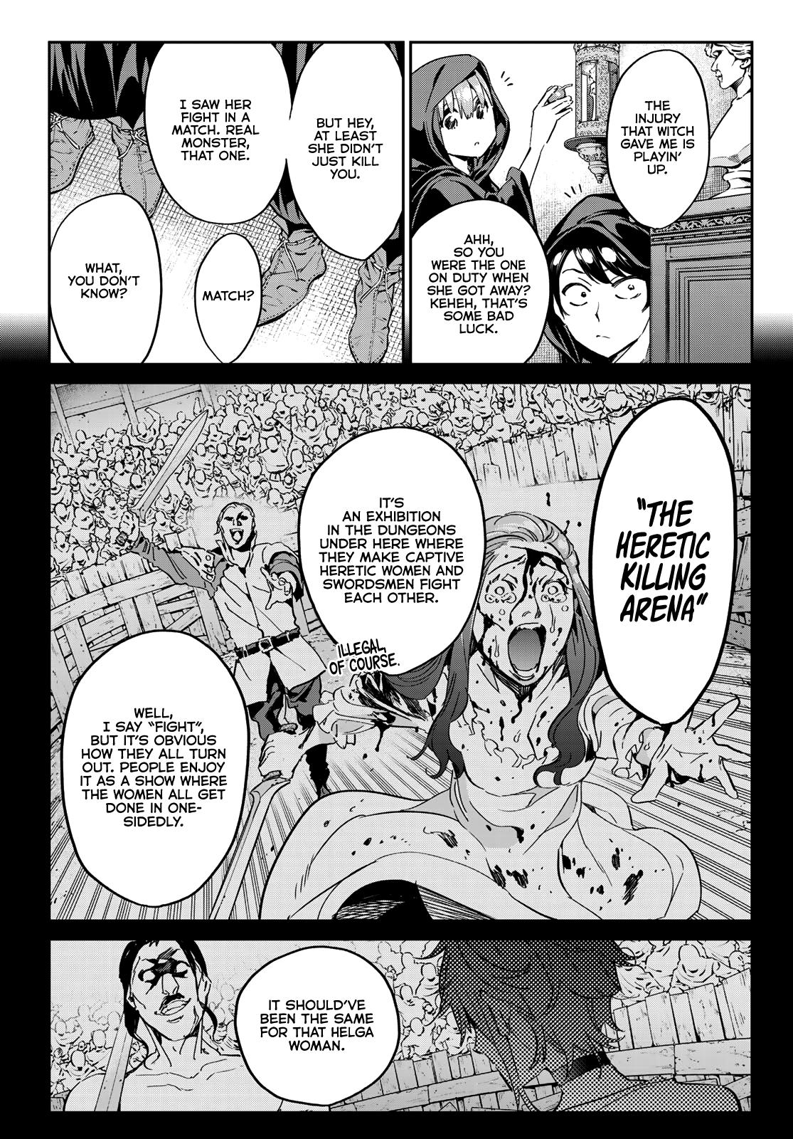 Tricks Dedicated To Witches Chapter 12: The Captive Witch page 8 - Mangakakalots.com