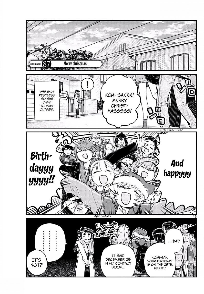 Komi-San Wa Komyushou Desu Vol.7 Chapter 87: Merry Christmas... page 1 - Mangakakalot