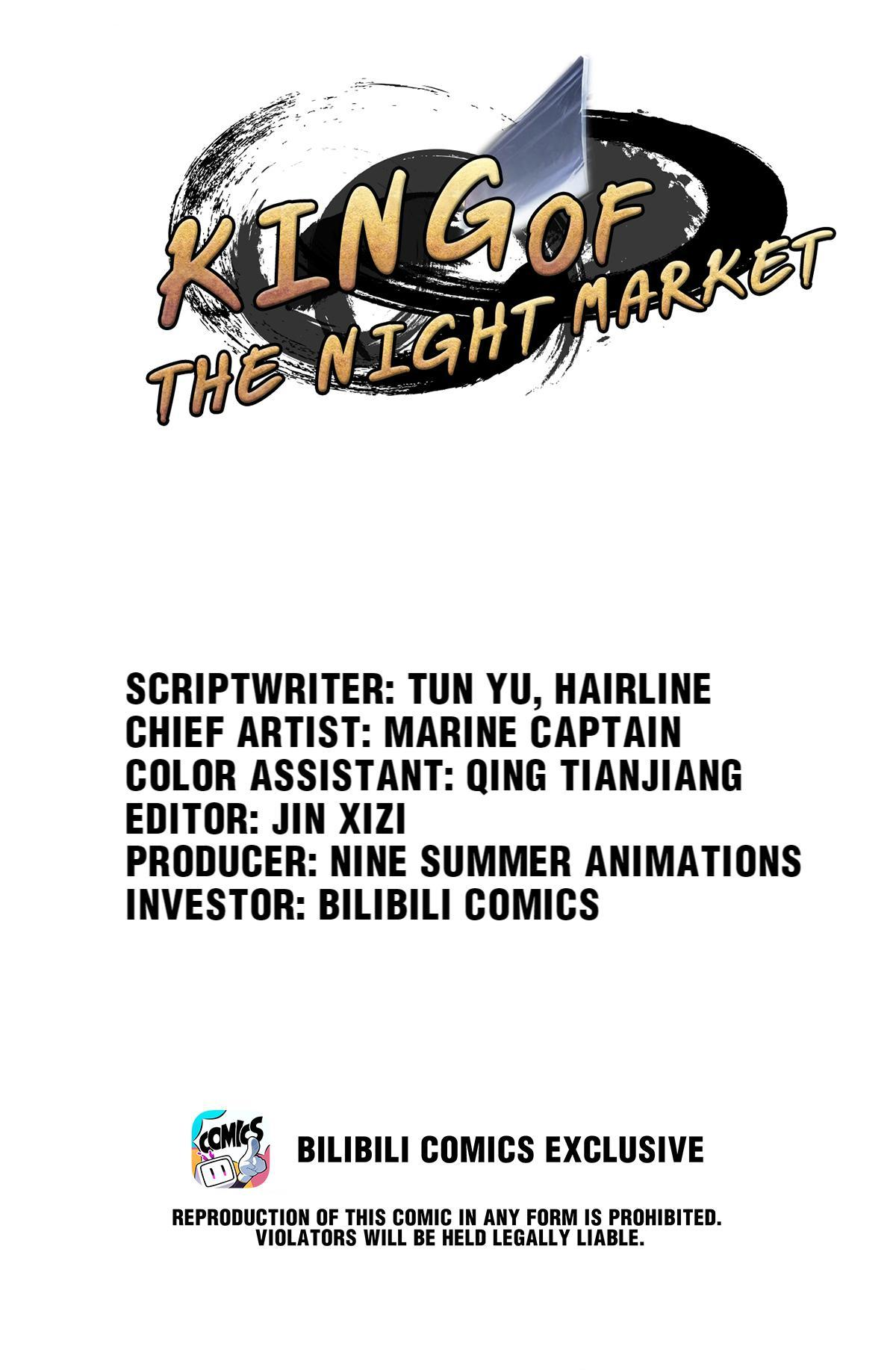 King Of The Night Market Chapter 24: A Day's Time page 1 - Mangakakalots.com