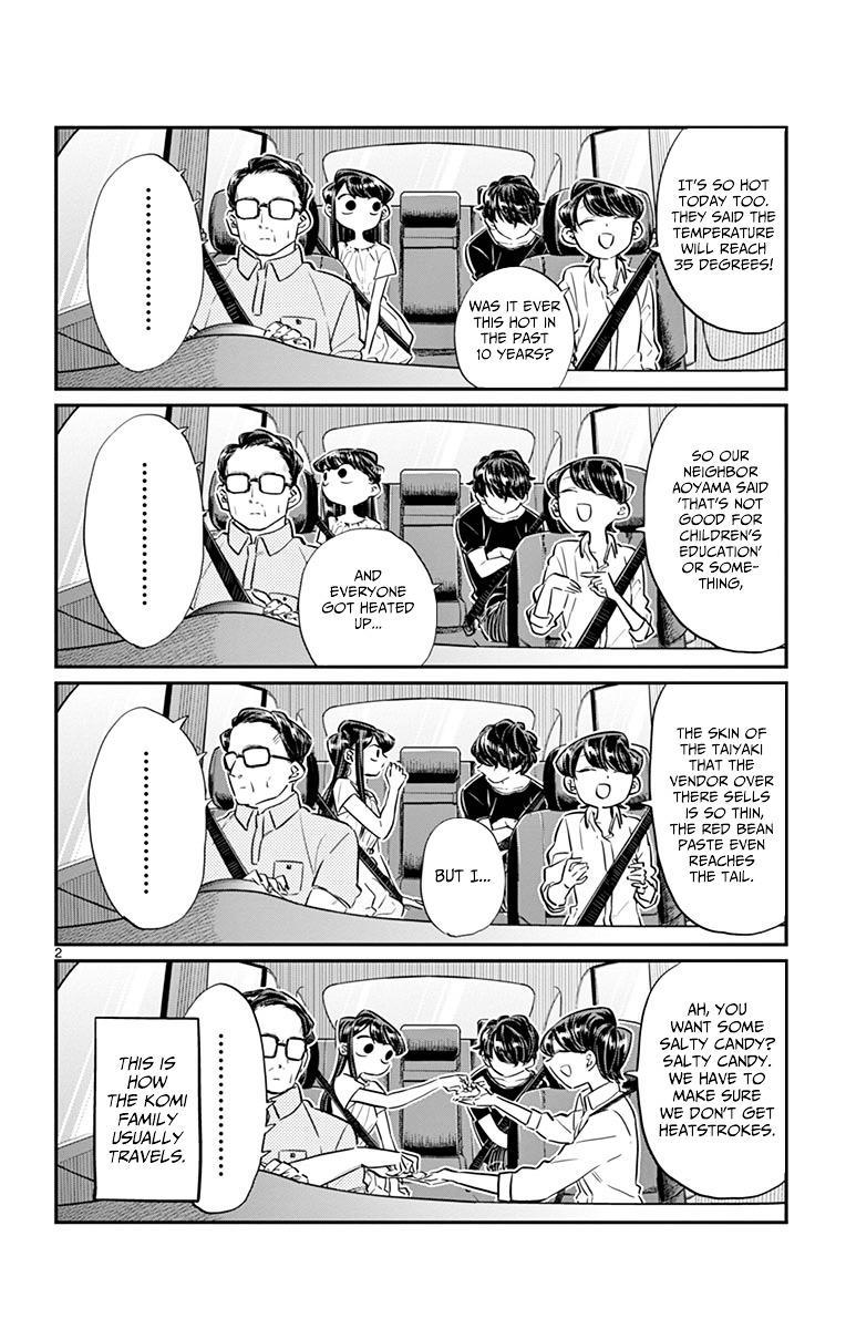 Komi-San Wa Komyushou Desu Vol.3 Chapter 45: Obon Festival page 2 - Mangakakalot