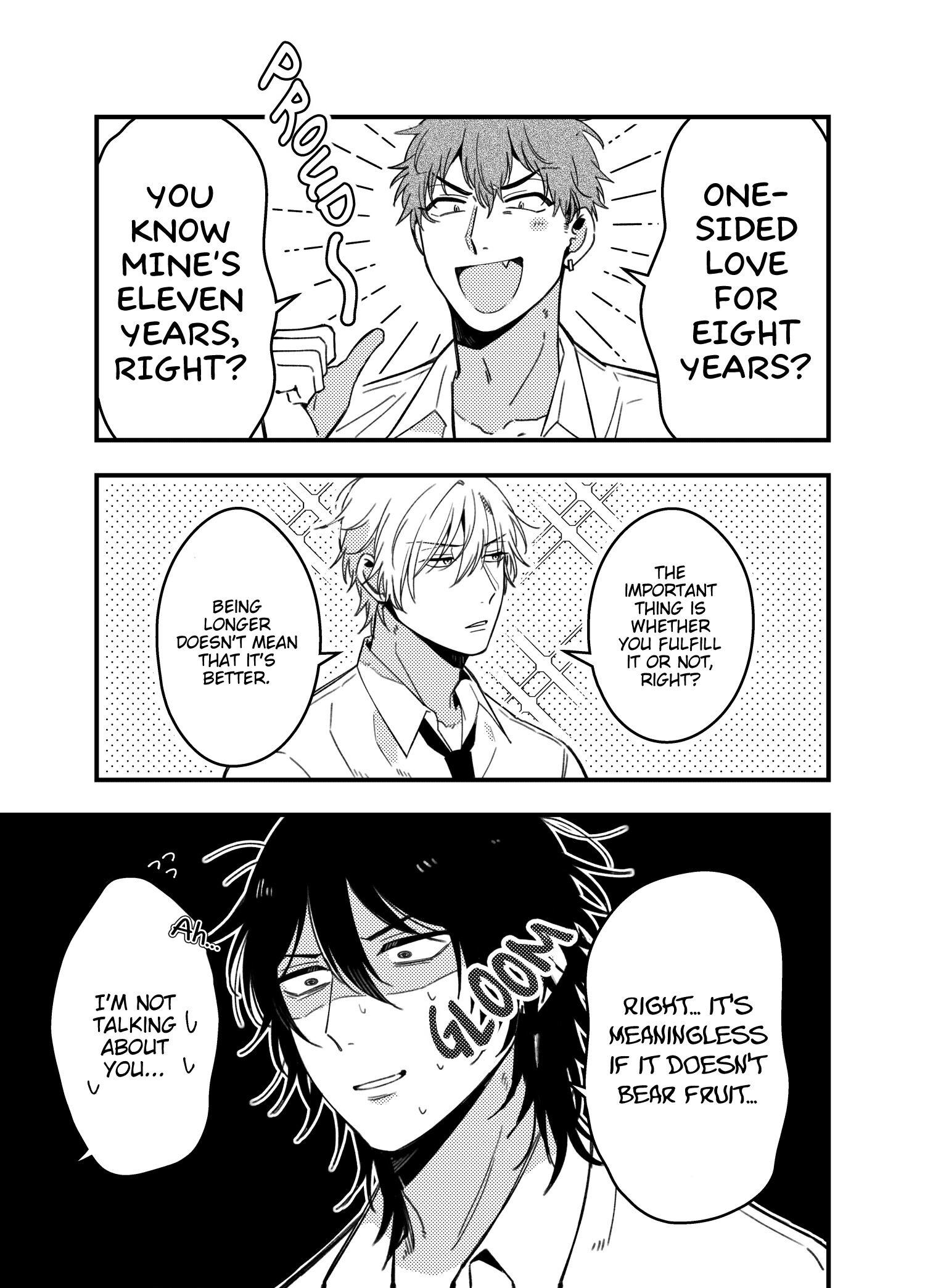A World Where Everything Definitely Becomes Bl Vs. The Man Who Definitely Doesn't Want To Be In A Bl Volume 2 Chapter 35.6 : Twitter Comics page 8 - Mangakakalots.com