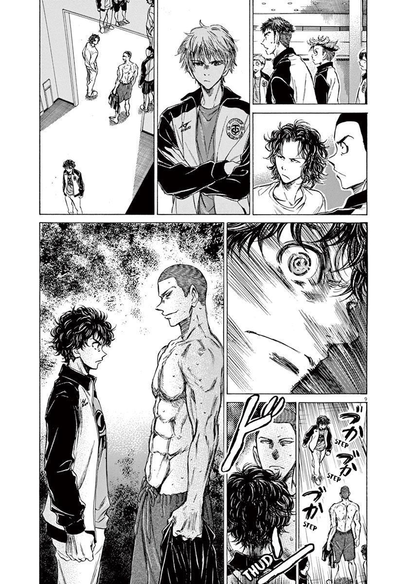 Ao Ashi Vol.7 Chapter 65: Returning To The Dorms page 9 - Mangakakalots.com