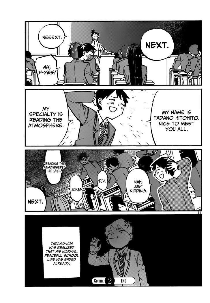 Komi-San Wa Komyushou Desu Vol.1 Chapter 2: Peaceful page 6 - Mangakakalot