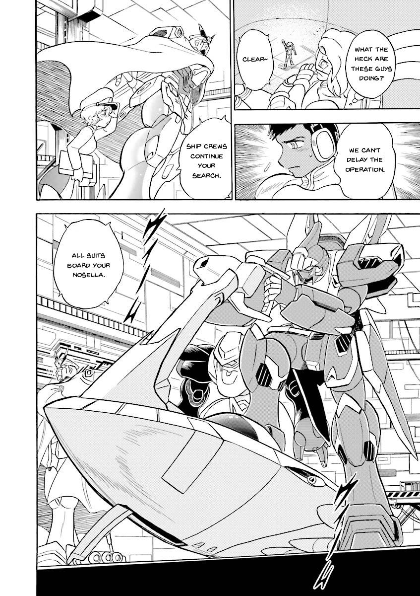 Kidou Senshi Crossbone Gundam Ghost Vol.5 Chapter 19: Jaburo's Thunderclap page 16 - Mangakakalots.com