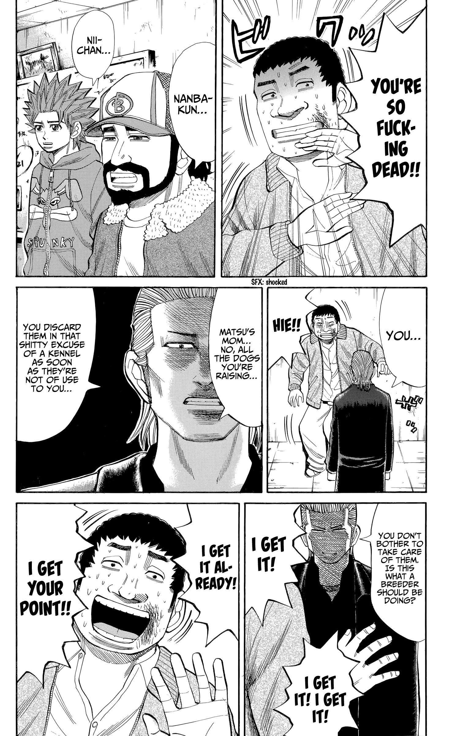 Nanba Mg5 Vol.12 Chapter 104: The Beast Has Been Unleashed page 12 - Mangakakalots.com